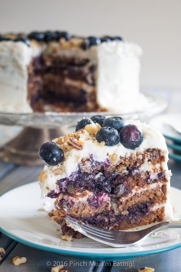 Blueberry Spice Cake