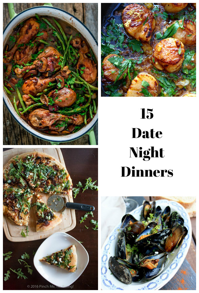 15 Date Night Dinners