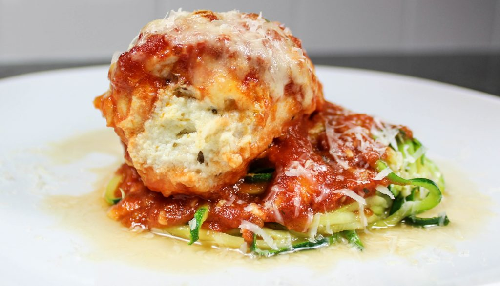 Lasagna Stuffed Chicken