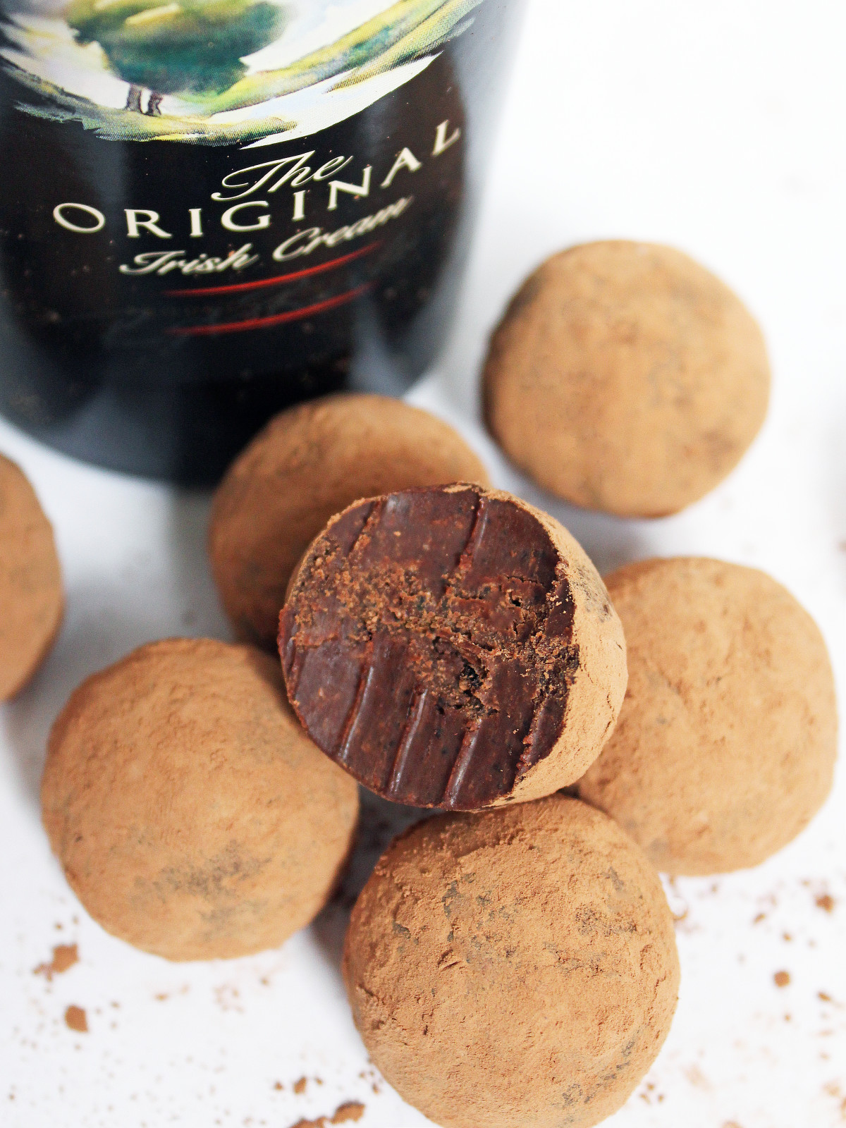Irish Cream Espresso Truffles
