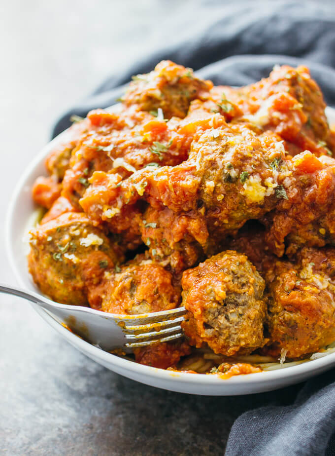 "We've rounded up 21 Melt In Your Mouth Must Make Meatball Recipes for you to try. That's three weeks worth of meatballs. Can you say ""Ma ma ma meatballs!"""