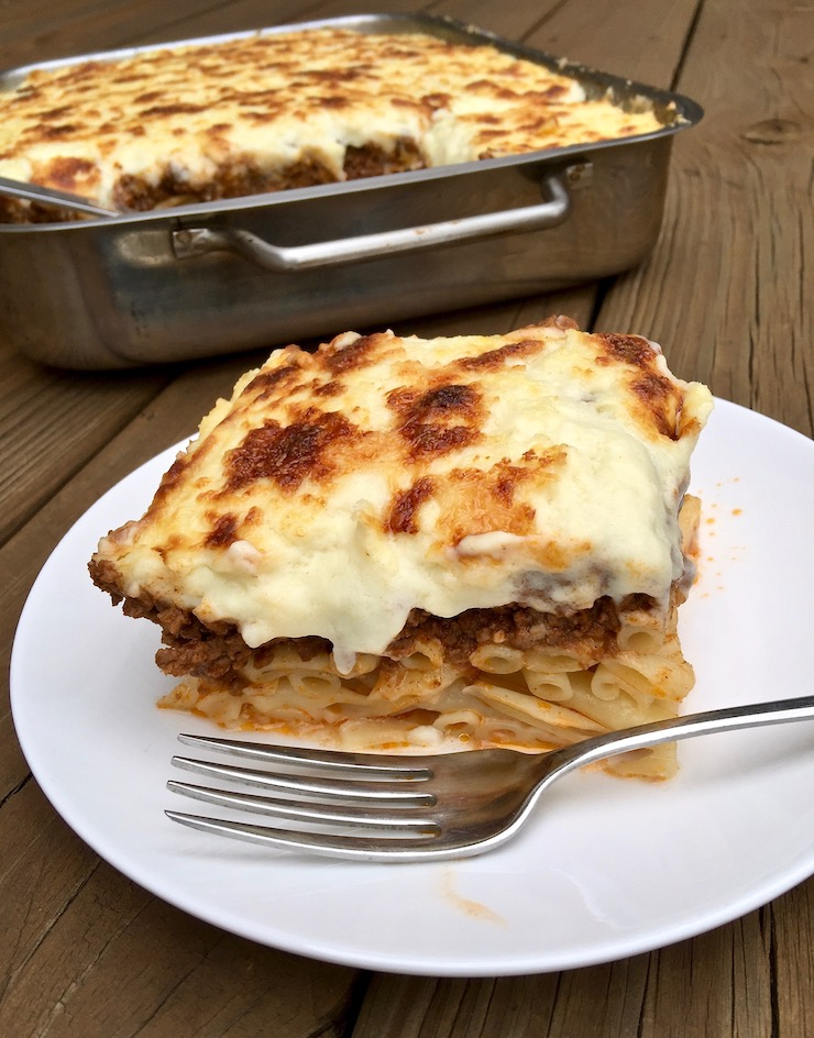 Authentic Pastitsio Greek Lasagna