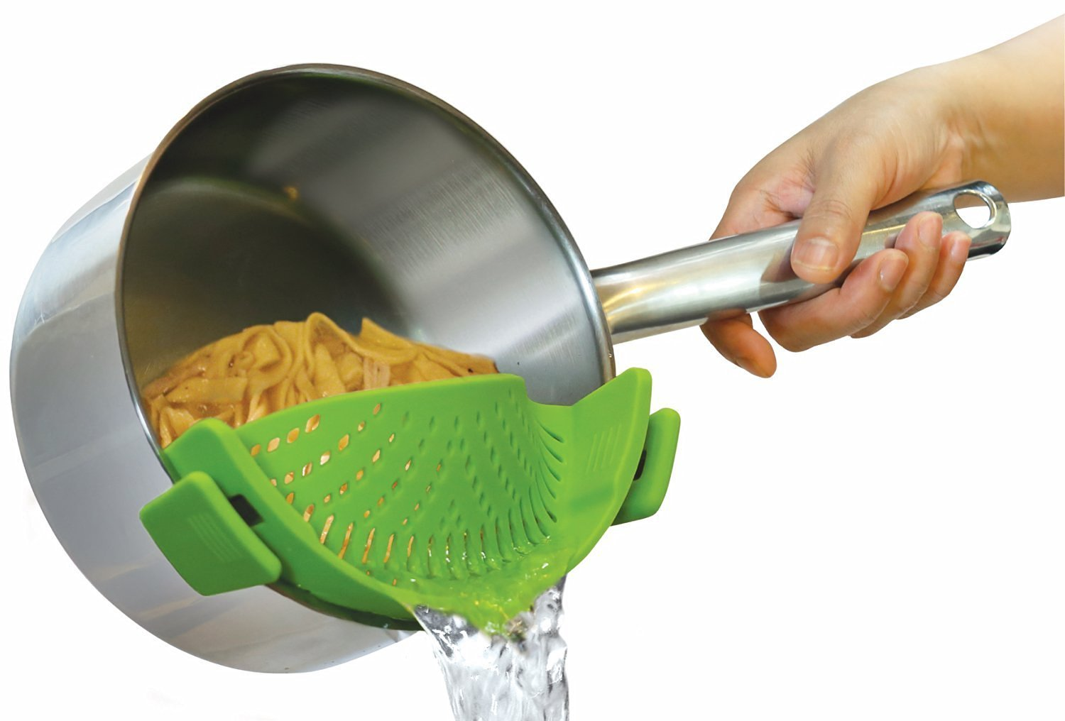 Snap N Strain - No Fuss Clip On Strainer