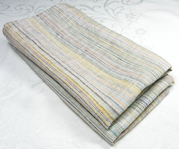 Farmhouse Linen Striped Towels