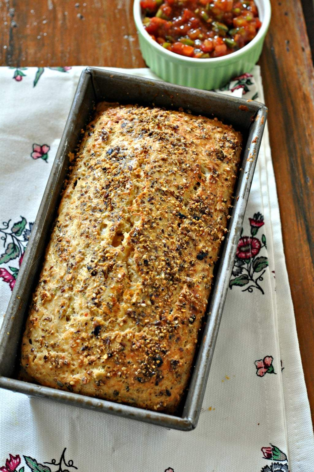 Olive and Sundried Tomato Quickbread