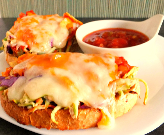 Two Cheese Tuna Mexi-Melts