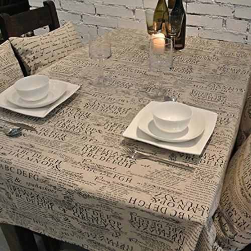 Vintage Newspaper Table Cloth