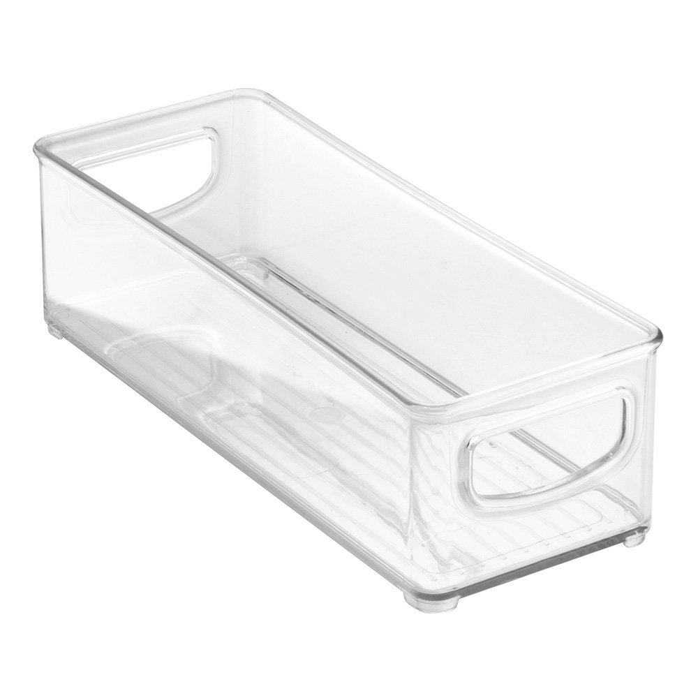 Clear Kitchen Storage Bin