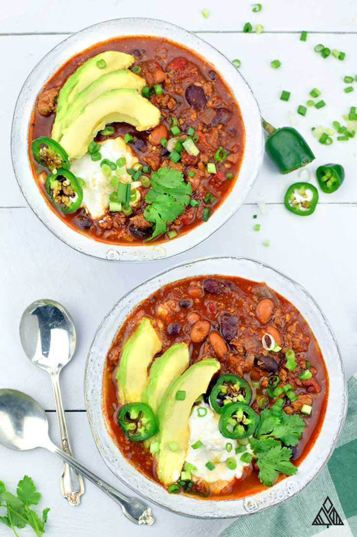 Hearty & Healthy Homemade Chili